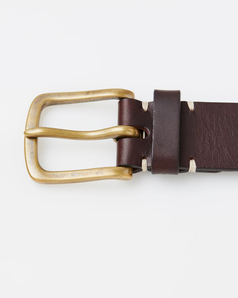 Original Belt - Walnut Brown / Brass