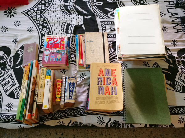 The books I kept after Konmari Method