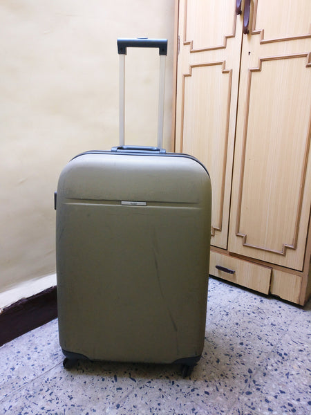 My suitcase which I kept with me