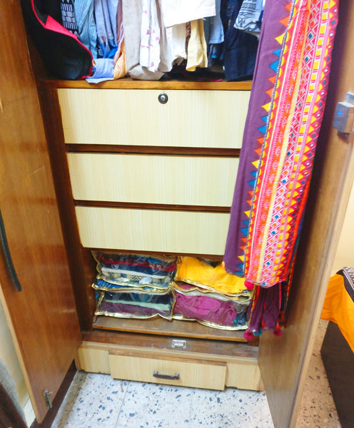 Almira after tidying up with Konmari Method 2