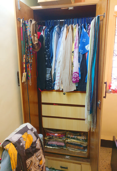 Almira before Konmari Method