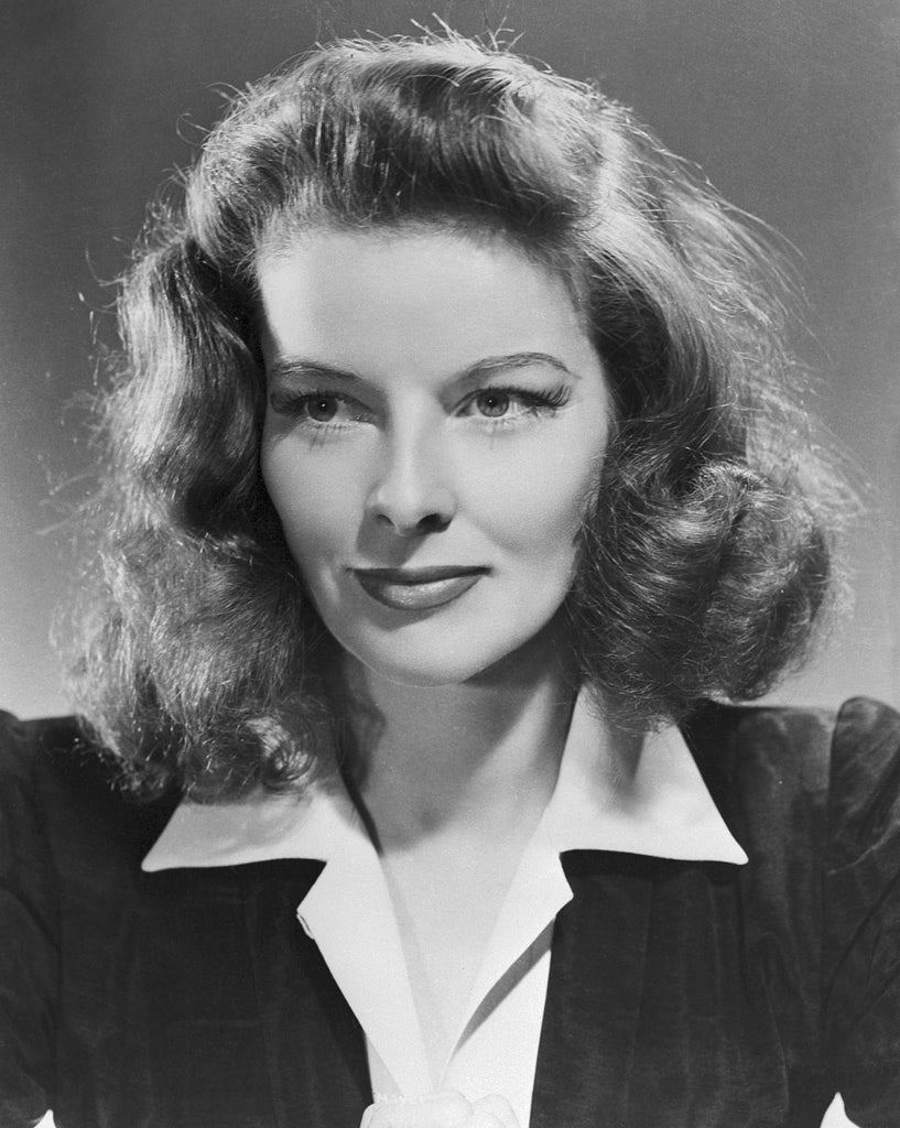 Image of Katharine Hepburn in men's suit