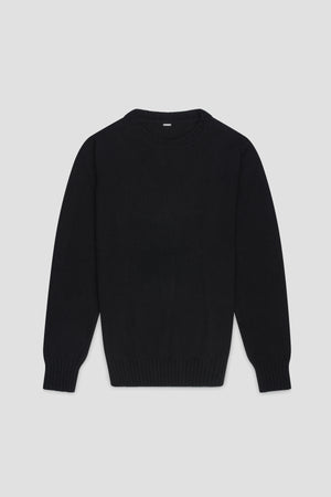 Mens cashmere sweater black