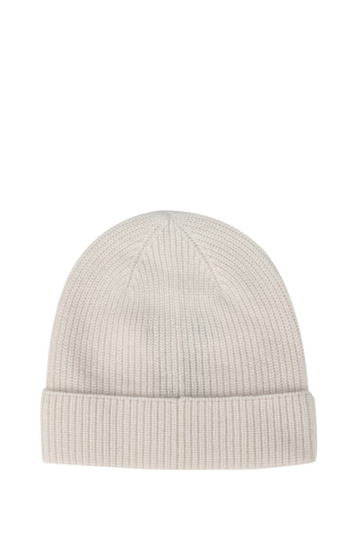 IVORY CASHMERE HAT