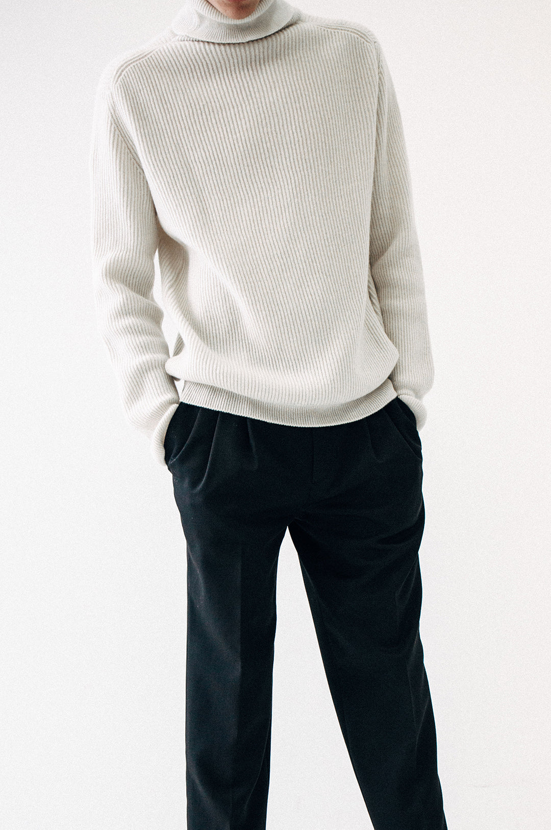 made in italy cashmere turtleneck