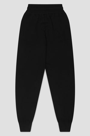 CASHMERE PANTS IN BLACK