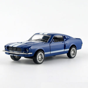 Mustang Diecast Metal Car Model