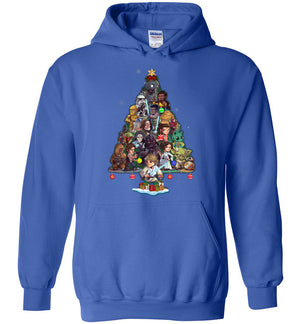 SW Characters Christmas Hoodie (new version)