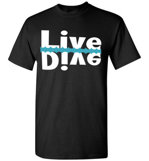 Live and Dive Side By Side T-shirt