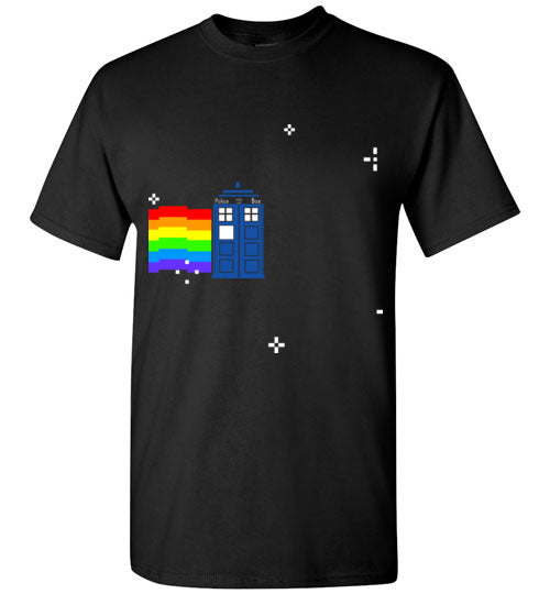 Waving Tardis T-shirt