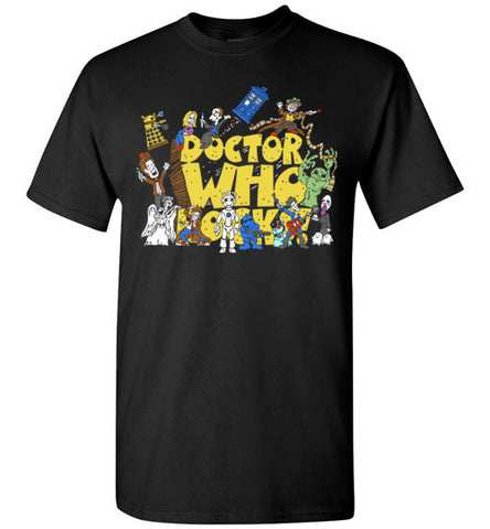 Doctor Who Rocks T-shirt