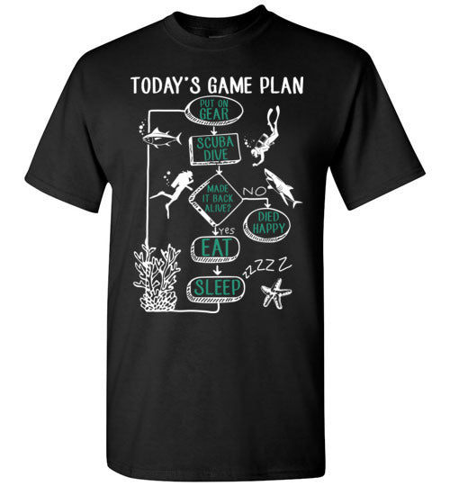 Today's Game Plan T-shirt