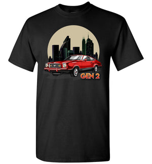 Mustang Gen 2 Cartoon Art T-shirt