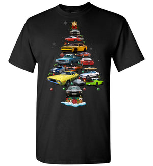 Dodge Challenger Christmas T-shirt