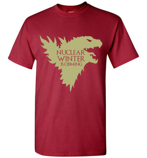 NUCLEAR WINTER IS COMING T-SHIRT