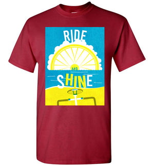 Ride and shine T-shirt
