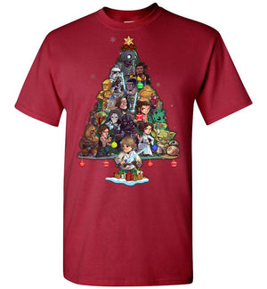 SW Characters Christmas T-shirt (new version)