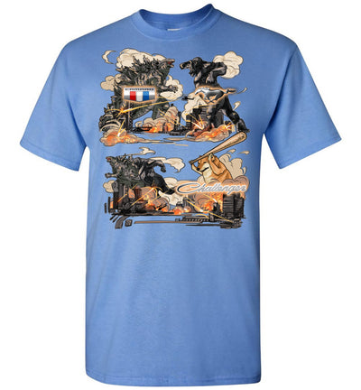 Challenger Is The Real King v.2 T-shirt