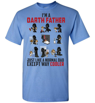 Darth Father Much Cooler T-shirt v.1