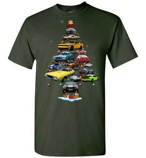 Dodge Challenger Christmas T-shirt (New version)