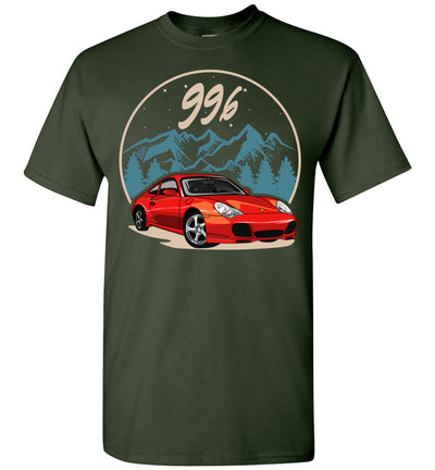 996 Cartoon Art T-shirt
