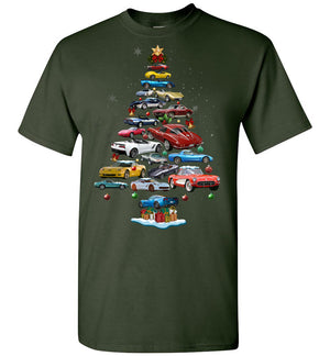 Corvette Christmas T-shirt