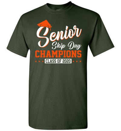 Senior Skip Day Champions Class of 2020 T-shirt