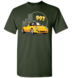 993 Cartoon Art T-shirt