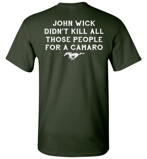 John Wick Killed For Mustang T-shirt