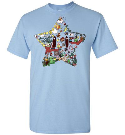 Mario Star Art T-shirt