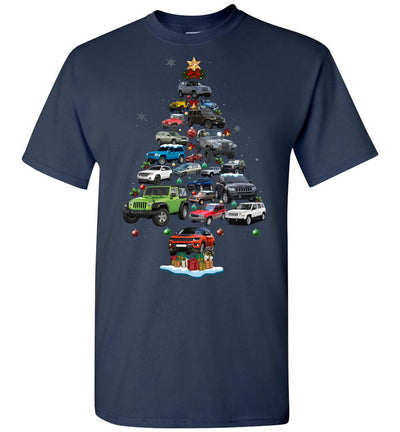 Jeep Christmas T-shirt