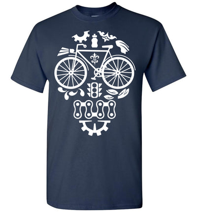 Bicycle Skull T-shirt