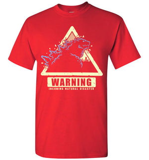 Incoming Natural Disaster T-shirt
