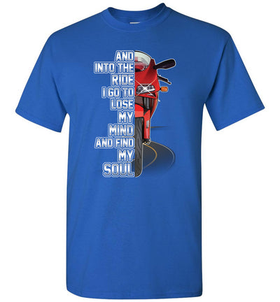 And into the Ride - Ducati 916 T-shirt