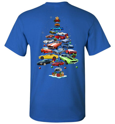 Camaro Christmas T-shirt - Back
