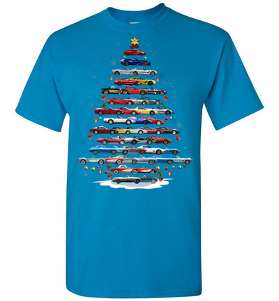 CV Christmas T-Shirt - Christmas Tree From All CVs