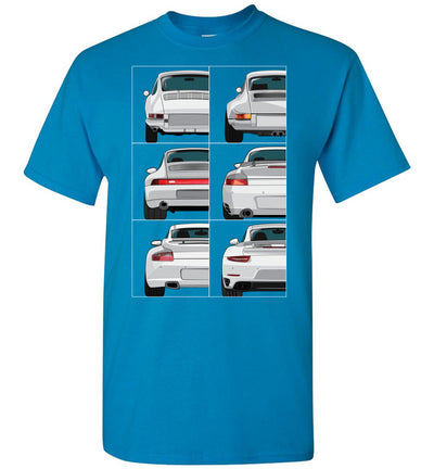 911 Rear View Collection T-shirt