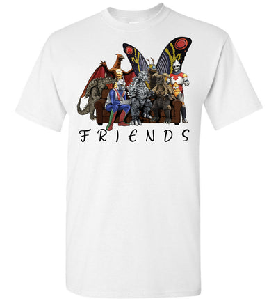 Godzilla and Friends T-shirt V.2