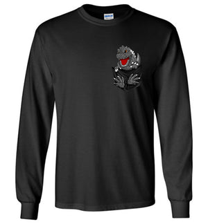 Godzilla Pocket T-shirt