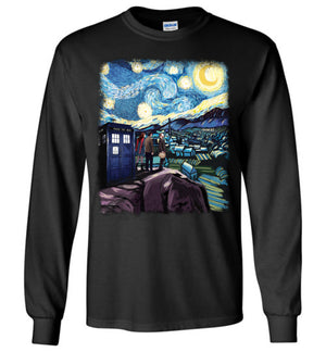 Doctor Who Starry Night T-shirt
