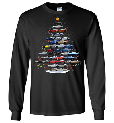 Skyline GTR Christmas T-Shirt - Christmas Tree From All Skylines