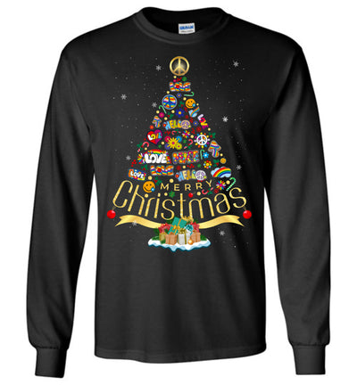 Hippie Christmas T-shirt