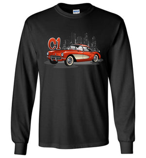 Vette C1 Cartoon Art T-shirt