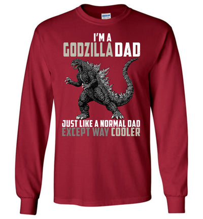 Godzilla Dad Much Cooler T-shirt