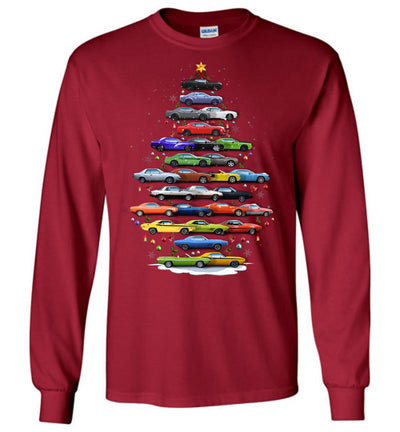 Challenger Christmas T-Shirt - Christmas Tree From All Challengers