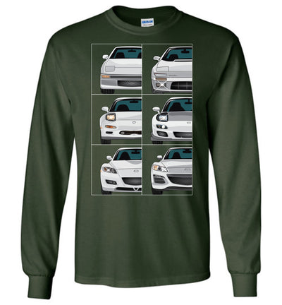 RX7/RX8 Front View Collection T-shirt