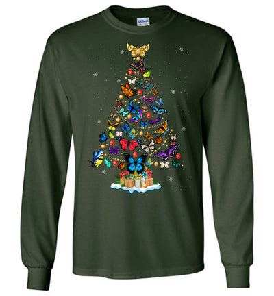 Butterfly Christmas T-shirt