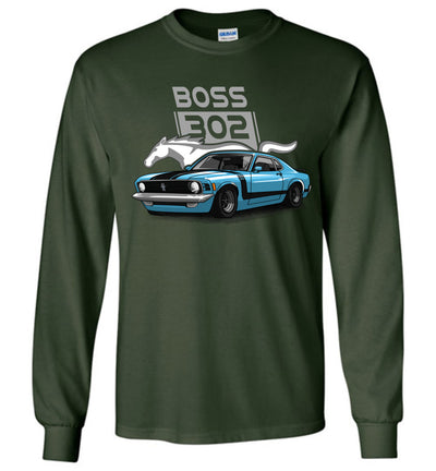 Stang Boss 302 Art T-shirt