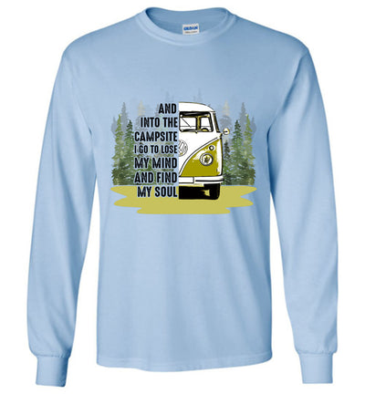 And into the Campsite - Kombi T-shirt