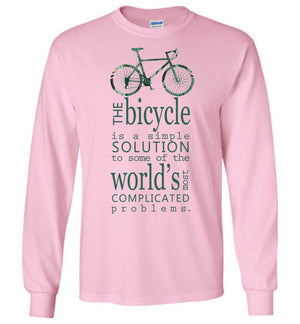 Bicycle Is The Solution T-shirt